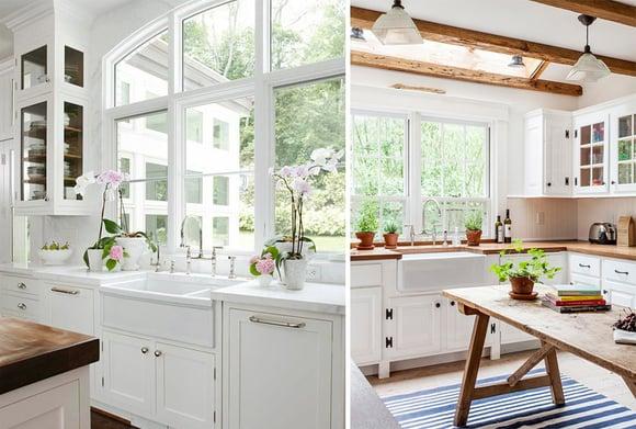 Kitchen Window Wall Comparison